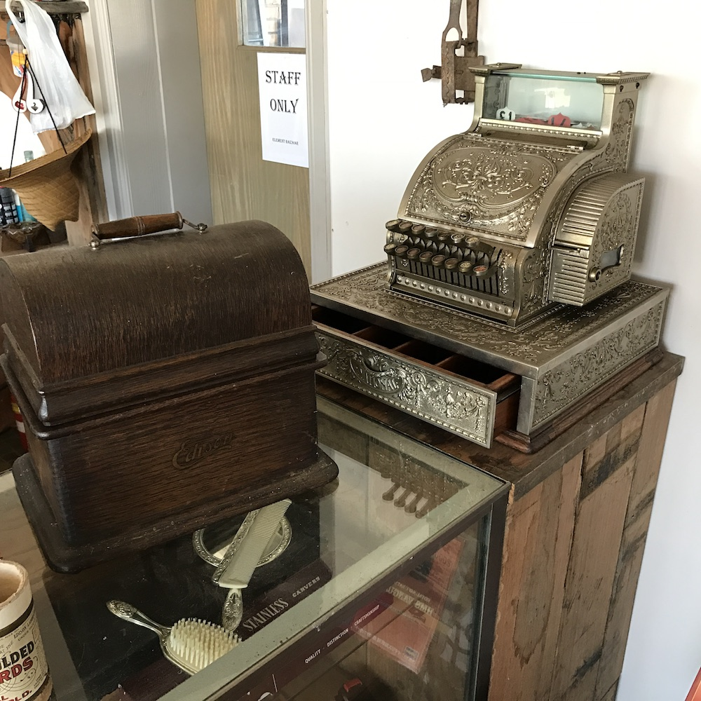 Element-Bazaar-Collectibles-Cash-Register-Gramophone